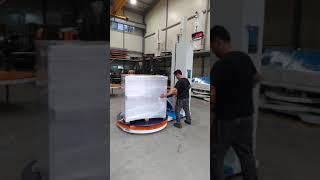 반자동랩핑기 계근형 동영상
