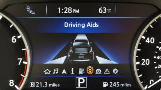 2017 Nissan Murano - Vehicle Information Display