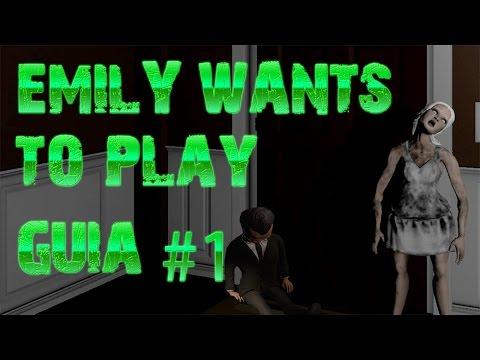 Guía   Emily Wants To play   12 y 1 AM   Como evitar a KIKI   Español   Trucos