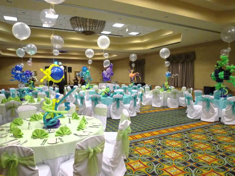 Bar Mitzvah and other Party Theme Decoration. DreamARK Events *  www.dreamarkevents.com * - YouTube