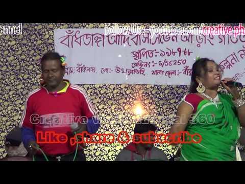 """kalpana hanasda"" new song stage program  2018"