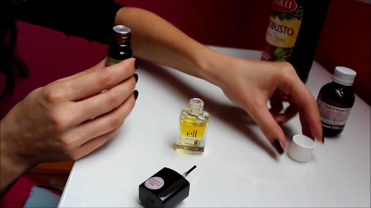 DIY Pflege für starke Nägel! - YouTube