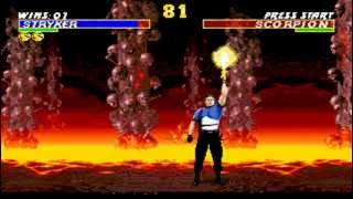 Ultimate Mortal Kombat 3 Stryker