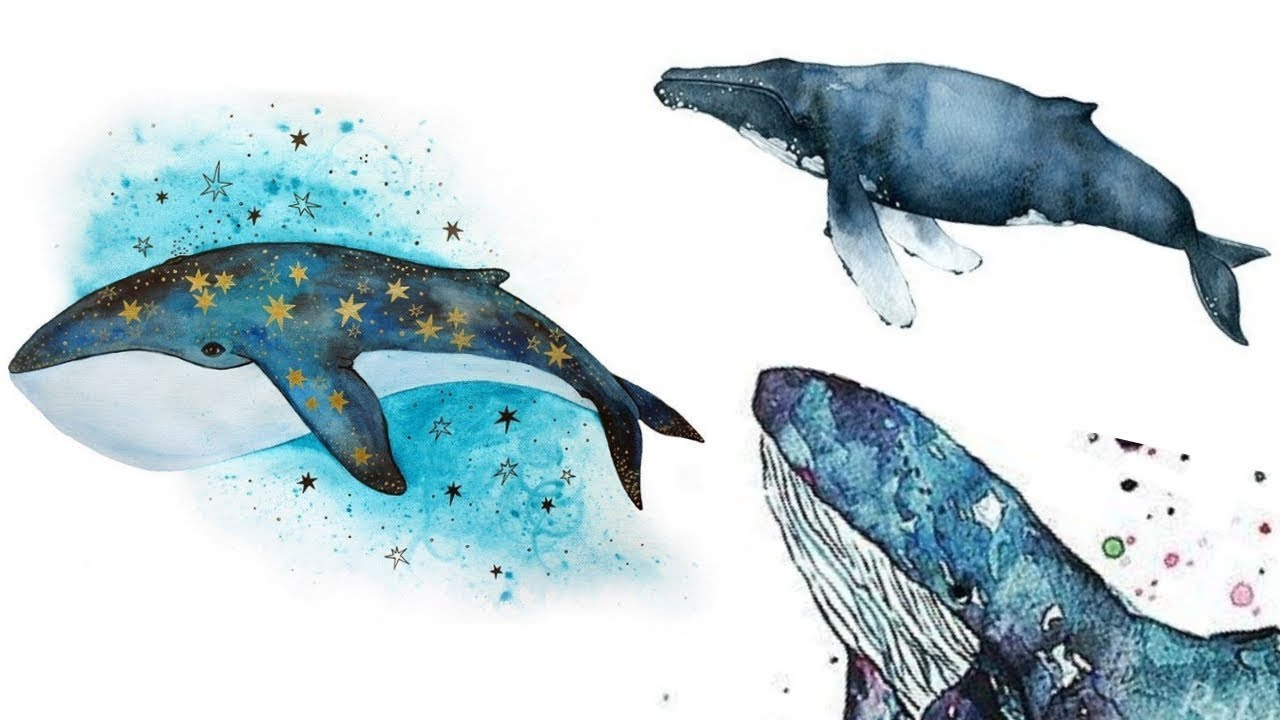 Whale Painting Ideas