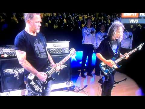 Metallica himno NBA