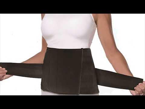 Breathable Elastic Maternity Support Belt Postpartum Wrapper Abdomen Slimming Belt- Rating