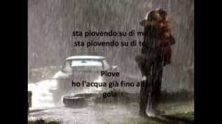 PIOVE Riccardo Cocciante + testo sincronizzato!