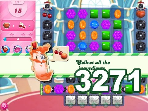 Candy Crush Saga Level 3271 (No boosters)