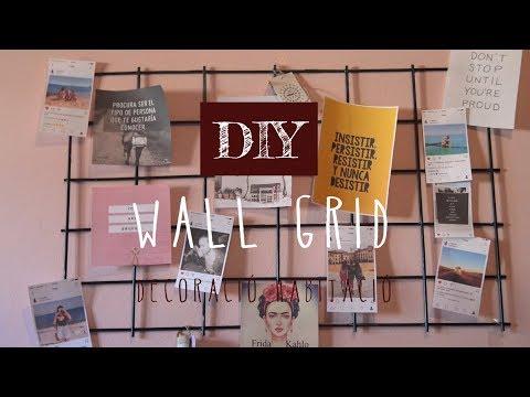 DIY   DECORA la teva habitació amb FOTOS   WALL GRID