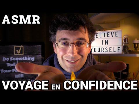 Voyage en Confidence - Intermède Anniversaire - ASMR Français - Confiance en soi