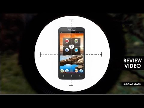 Lenovo A680 Review - Form Factor, Benchmarks, Camera, Gaming