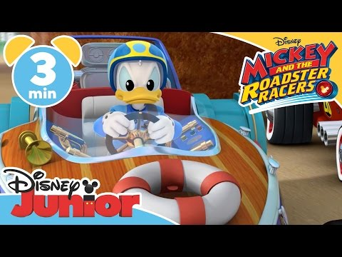 Mickey And The Roadster Racers | Giant Meatball | Disney Junior UK