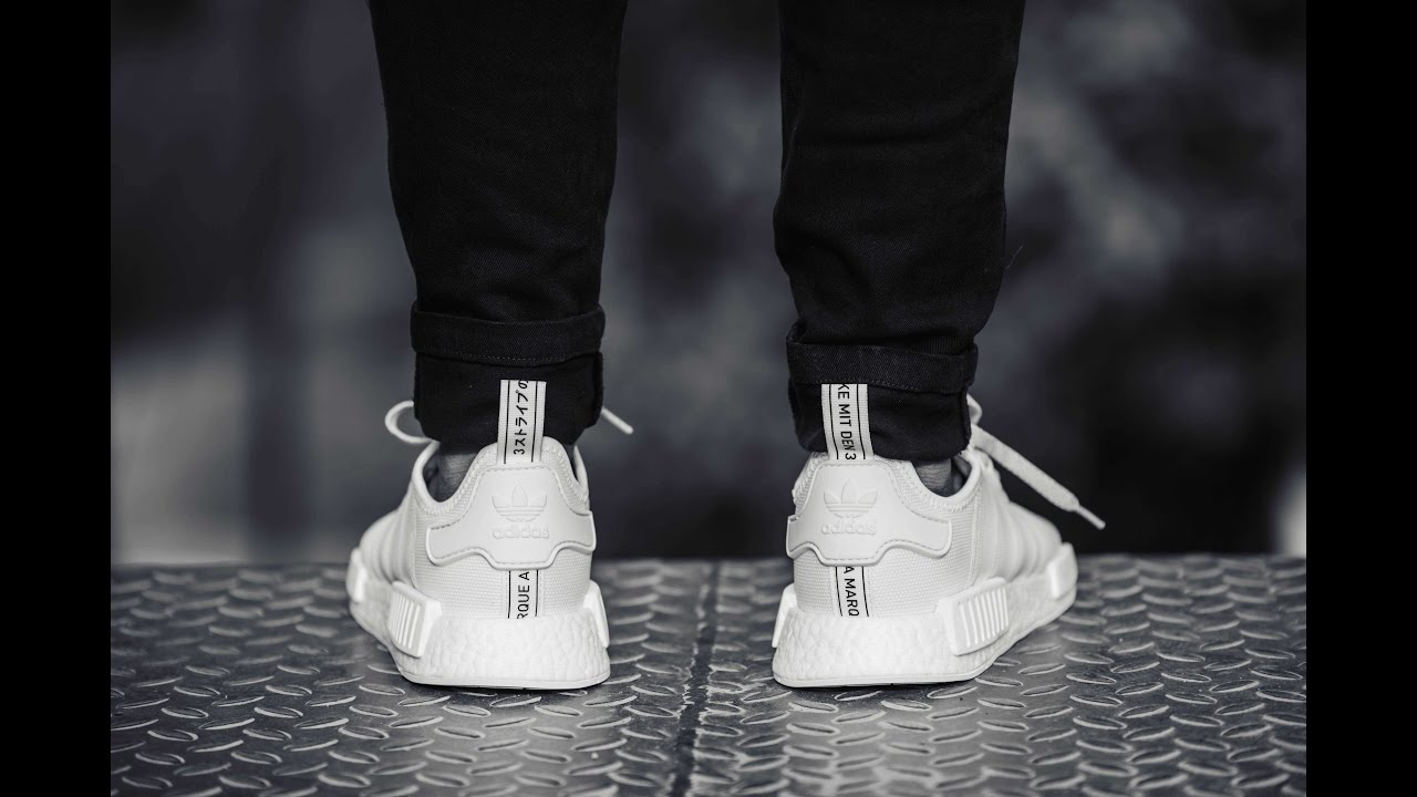 5b71fbe9c53d7 adidas Originals NMD R1 Reflective White - Details and On Feet Review