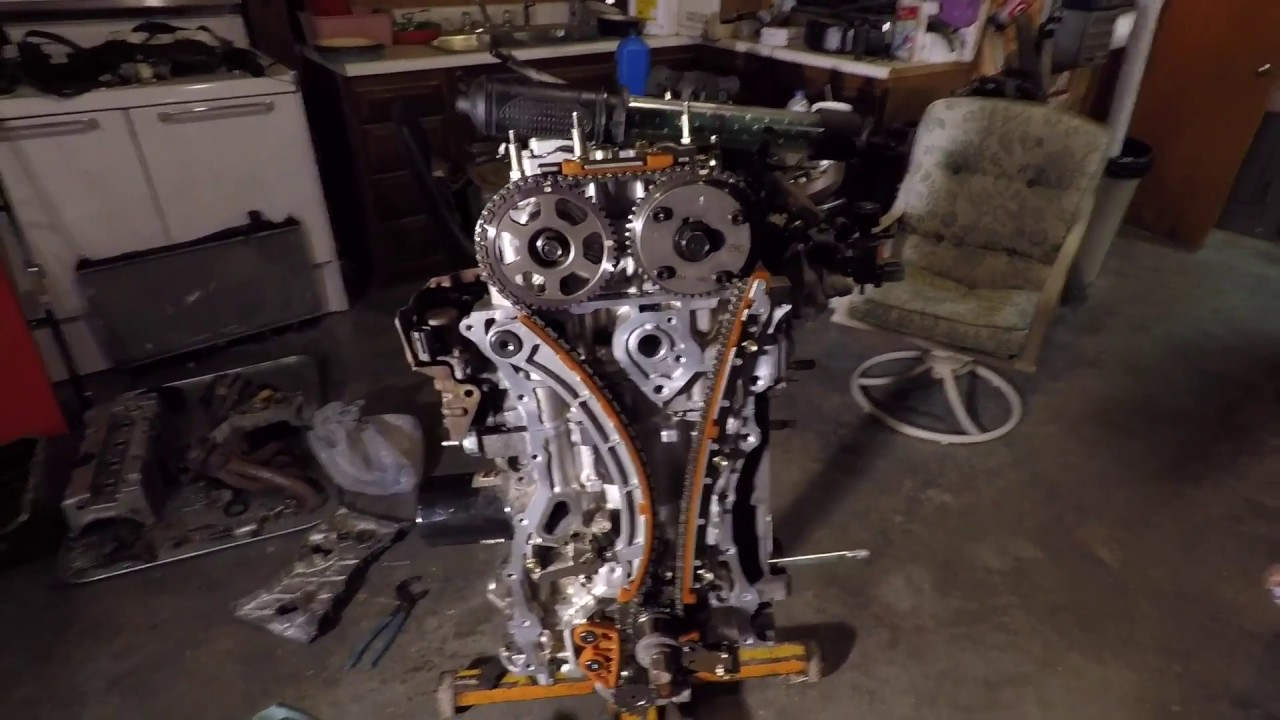 honda k20 engine timing procedure and timing mark location [ 1280 x 720 Pixel ]
