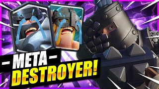 LADDER DESTROYER!! #1 DECK TO MAKE META USERS CRY IN CLASH ROYALE!! 😱
