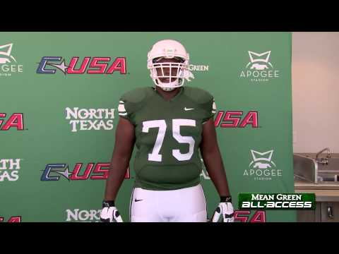 North Texas Unveils Uniform For Centennial Celebration