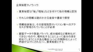 不正競争防止法 6-2  知的財産権 基礎編