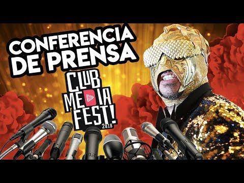 Dando clases en Conferencia y Entrevistas del Club Media Fest