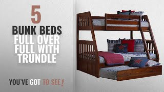 Top 10 Bunk Beds Full Over Full With Trundle [2018]: Discovery World Furniture Twin over Full Bunk https://clipadvise.com/deal/view