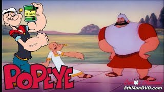 POPEYE THE SAILOR MAN Greek Mirthology 1954 Remastered HD 1080p
