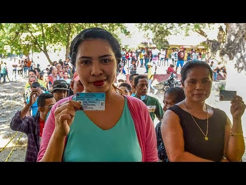 East Timor voters cast ballots in parliamentary election