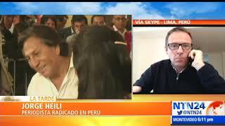 Expresidente Alejandro Toledo fue arrestado en EEUU a pedido de extradición de Perú