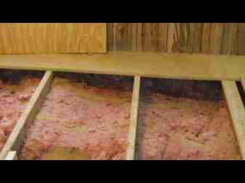 Mobile Home Repair Mobile Home Floor Repair Southport NC  YouTube
