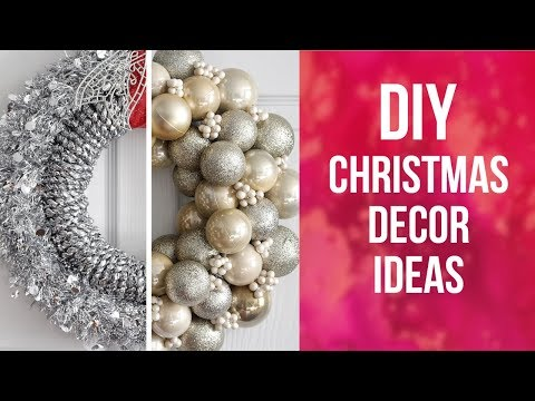 DIY Christmas Decor Ideas  | So Easy & Inexpensive