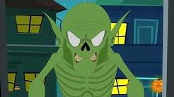 Du kannst nicht Halloween spielen   Halloween Lied für Kinder   You Can't Run Its Halloween