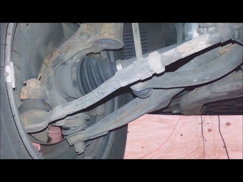 2006-2011 Kia Rio outer tie rod, ball joint, sway bar link pin replacement