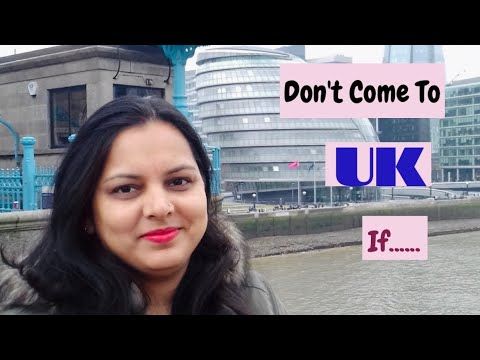 Don't Come To UK If....| Things NOT To EXPECT When You Come To ENGLAND |Must Watch ||