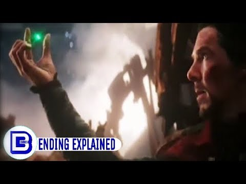Ending Of Infinity War Explained In Detail...