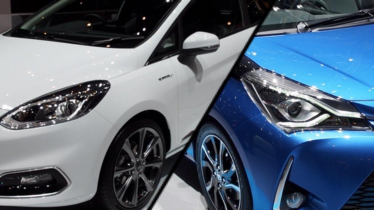 2017 Ford Fiesta Vs 2017 Toyota Yaris
