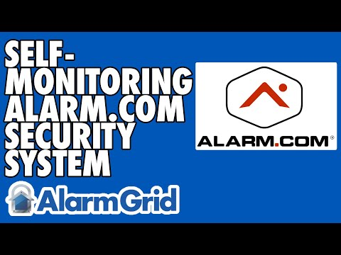 Self-Monitoring An Alarm.com Security System