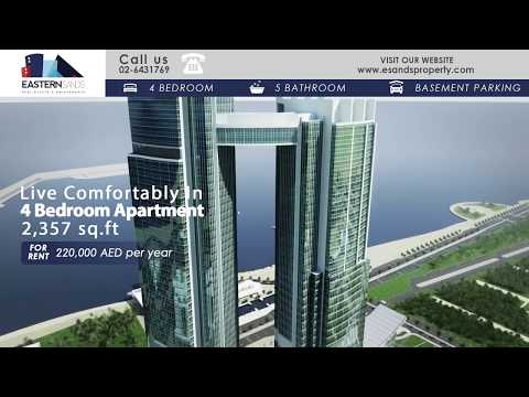 Nation Towers Abu Dhabi 4BR Apartment