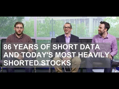 86 Years of Short Data and Today's Most Heavily Shorted Stocks