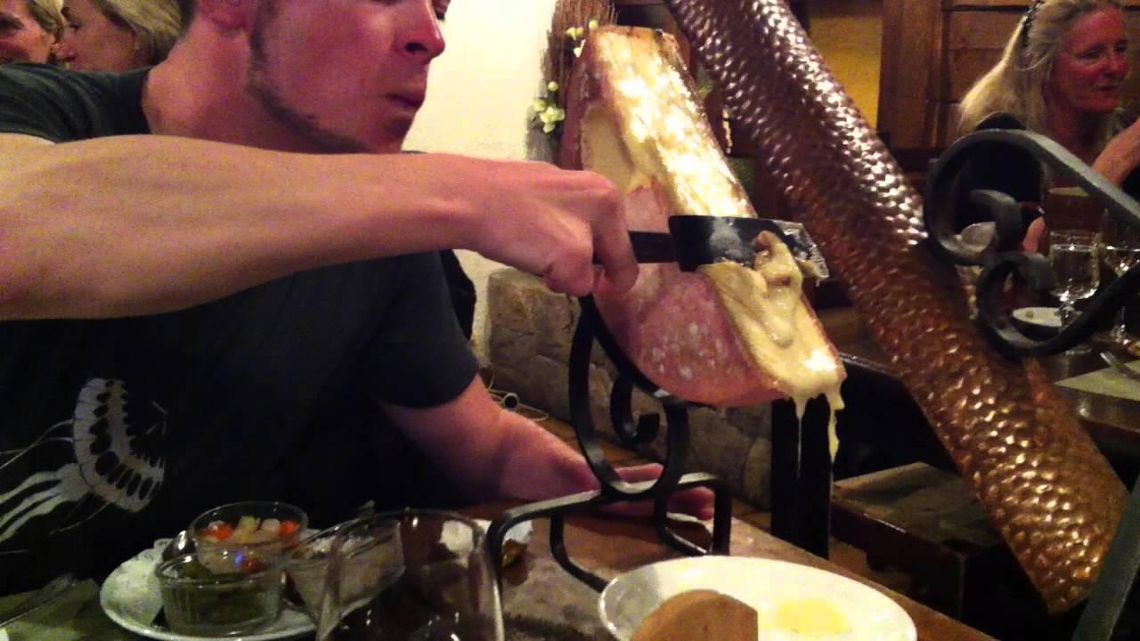 O que comer na França - Raclette