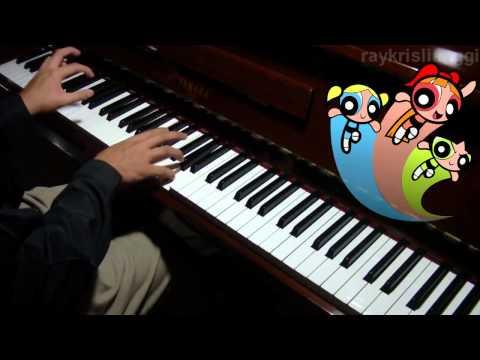 Power Puff Girls Opening Theme Dimainkan di Piano