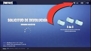 HOW TO RETURN PURCHASES, SKINS, PICOS, BAILES, IN FORTNITE!!!