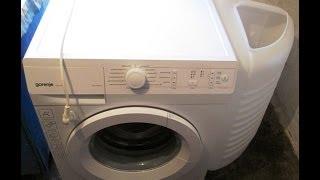 Распаковка стиральной машины Gorenje W72Y2/R(, 2014-01-03T14:53:08.000Z)