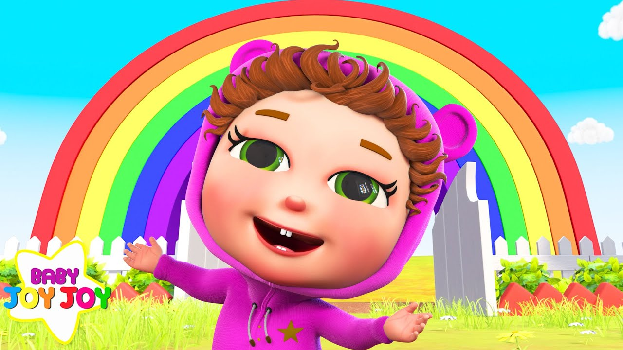 Colors Of The Rainbow and MORE Songs for Kids | Baby Joy Joy