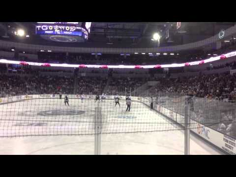 Penn State Pre-Game & 1st Goal at Pegula Ice Arena vs. Army