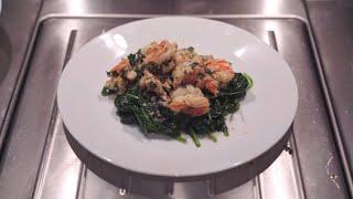 Shrimp & Spinach -  Sabrinasfood192