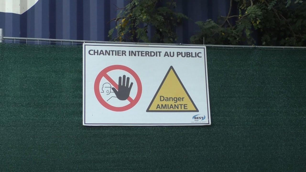 L'amiante stockée sur le parking du CHU est-elle dangereuse ?