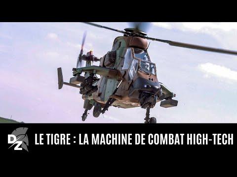 Le Tigre, l'hélicoptère de combat high-tech