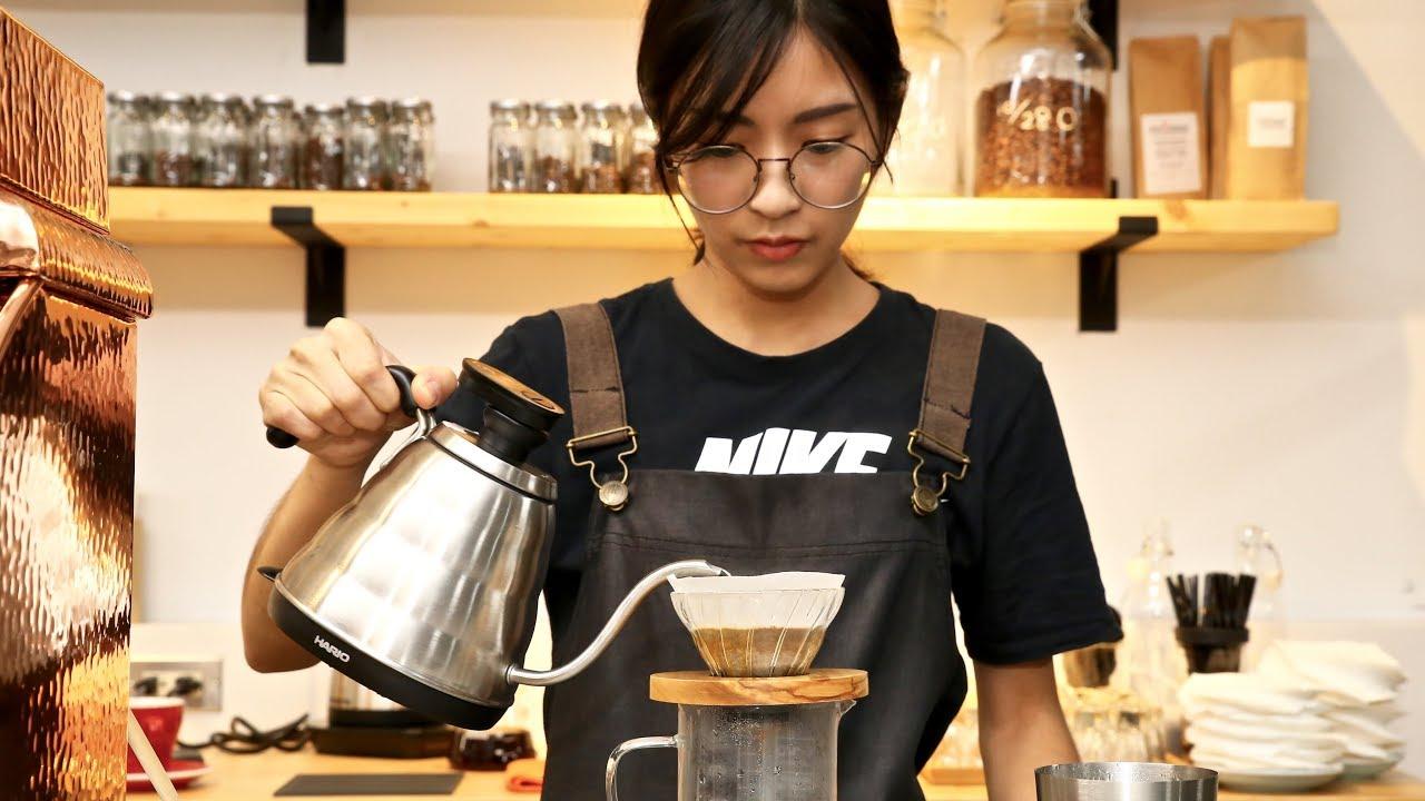 HARIO 手沖壺專用電子溫度計(VTM-1B)V60 玻璃濾杯手沖咖啡教學 沖煮示範:Phoenix Roasteria 錄影剪輯:咖啡 ...