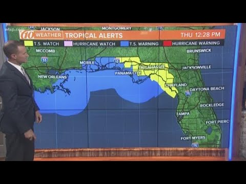 Tracking Potential Tropical Cyclone 16, Warnings Issued For Gulf Coast States