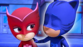 PJ Masks em Portugues Menino Gato e Corujita Compilacao de episodios Desenhos Animados