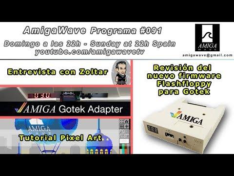 Programa #91 - FlashFloppy firmware para Gotek, Entrevista con Zoltar,  Pixel art y mucho más
