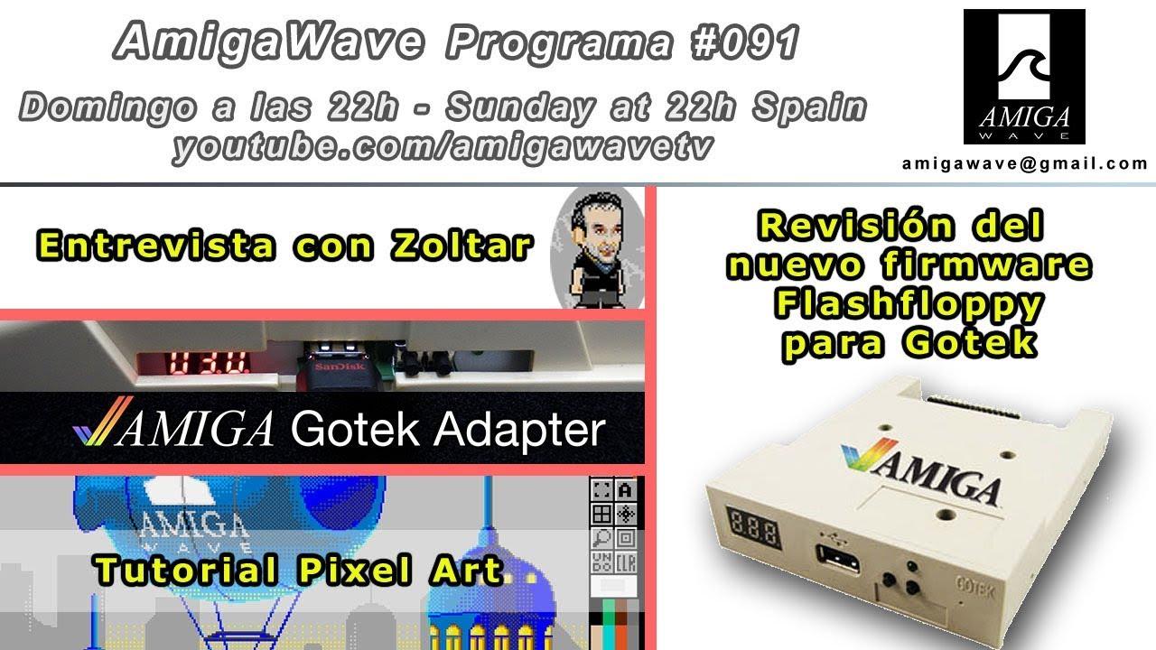 Programa #91 - FlashFloppy firmware para Gotek, Entrevista